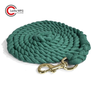Heavy Duty Cotton Lead Rope