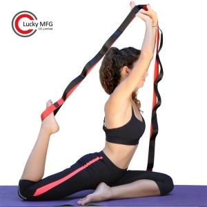 Yoga Strap With Neoprene Padded Handles