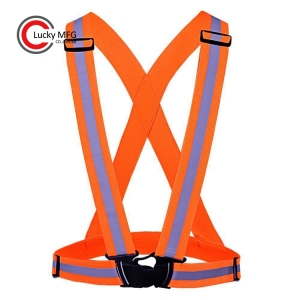 Adjustable Security High Visibility Reflective Vest