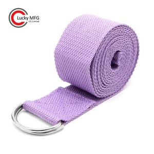 2018 Custom Cotton Yoga Belt For Beginners