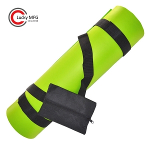 New Features Yoga Mat Strap With Pouch