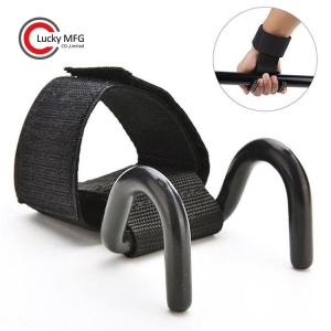 Heavy-Duty Gym Training Weightlifting Strap Hooks