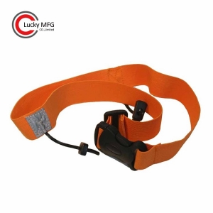 Custom Logo Adjustable GEL Loops Elasticated Triathlon Number Waist Race Belt