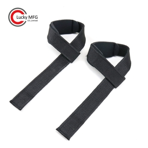 Neoprene Padded Cotton Weightlifting Strap