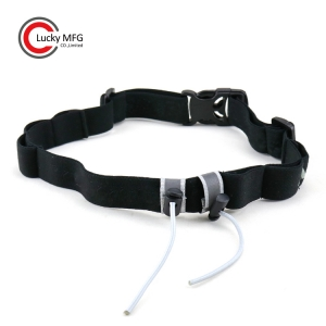 Elastic Race Number Belt With Gel Holders