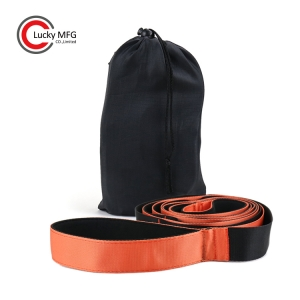 Hot Products Yoga Stretch Strap With 12 Loops Export To USA Department Store