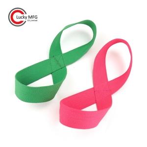 Cross Yoga Strap Endless Strength Flexibility With A Twist Yoga Infinity Strap