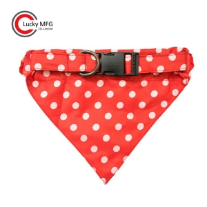 Soft and Comfortable Fabric Dog Bandana Collar