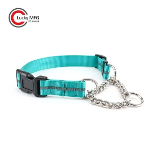Custom Chain Martingale Dog Collar