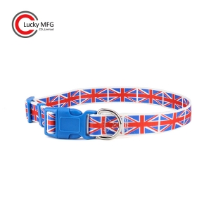 Heatransfer Printing Flag Pet Collars