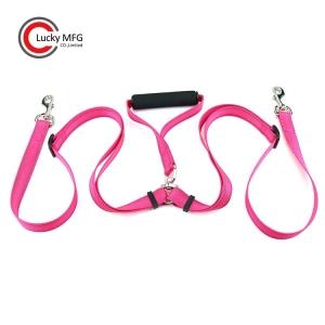 Double Dog Leash with EVA Handle