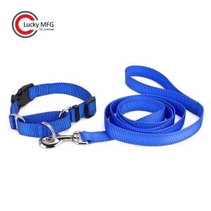 Reflective Dog Collar And Leash Set