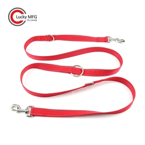 Dog Leash With 3 Regulating Positions For Adjustable Handle