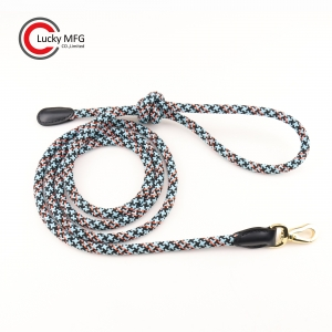 100% Polyester Braided Rope Dog Leash
